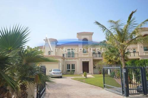 Exclusive 4 BR Villa+ Maid Biggest Plot in Jumeirah Islands
